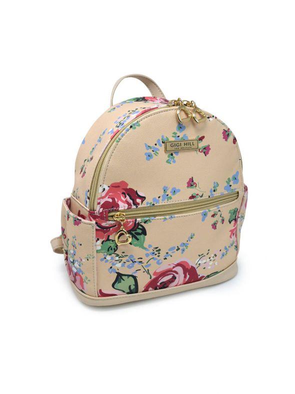 Lennon Antique Floral Backpack