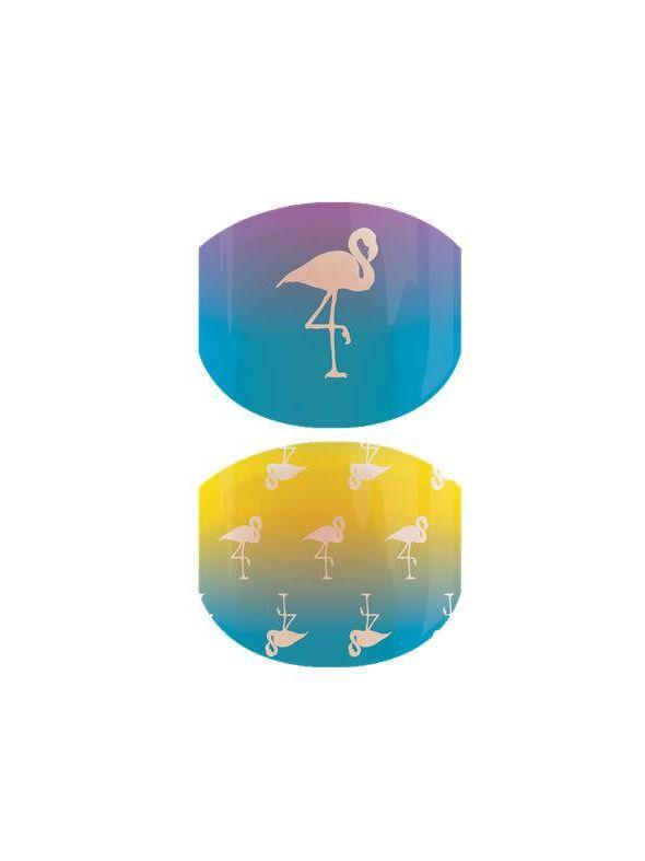 Flamingo Lingo Jr - Nail Wrap