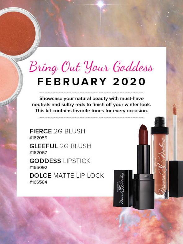 Mineral Makeup of the Month Club - February 2020